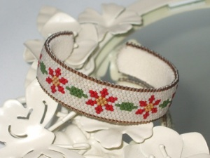 Autumn Flowers Cuff