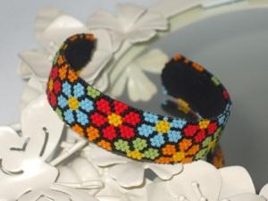 Bright Flowers Cuff