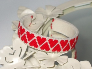 Heart Lattice Cuff